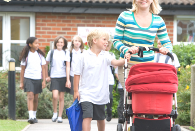 Respectful parenting school run