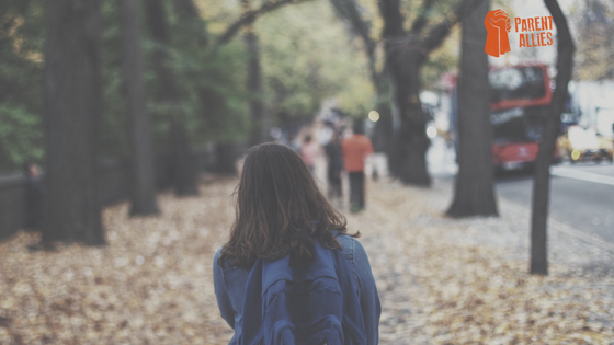 BEING AN ALLY TO YOUR CHILD ON A HECTIC SCHOOL MORNING